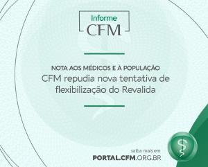 CFM reitera defesa do Revalida e se posiciona contra nova tentativa de flexibilização