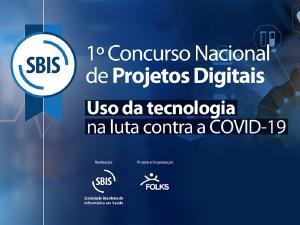 1º Concurso Nacional de Projetos Digitais tem como tema uso da tecnologia na luta contra a Covid-19