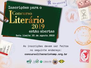 Inscrições para o Concurso Literário Médicos do Paraná 2019 encerram nesta quinta (15)