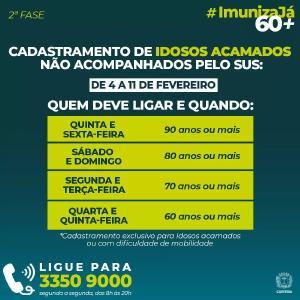 Curitiba prepara vacinação anticovid para idosos com início de cadastramento