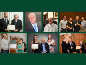 CRM-PR confere Diploma de Mérito Ético e oito médicos pioneiros de Londrina