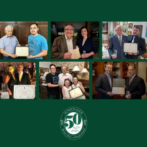 Na passagem do Jubileu de Ouro, seis médicos de Ponta Grossa recebem o Diploma de Mérito Ético