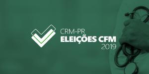 CRM-PR inicia apuração da Eleição CFM 2019 nesta quinta-feira (29)