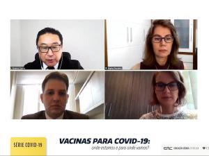 Palestras sobre perspectivas com vacina ganham repercussão nacional; vídeo está disponível