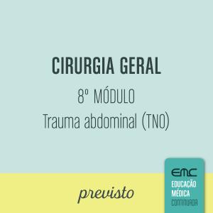 Cirurgia Geral - 8º Módulo: Trauma abdominal (TNO)