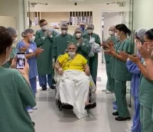 Primeiro médico da linha de frente vítima de Covid-19, Dr. Jamal tem alta hospitalar em Curitiba