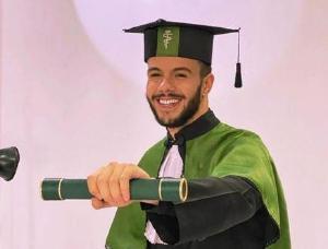 Pesar pelo falecimento do Dr. Leonardo Matheus Janeri Barbosa, médico recém-formado pela Mackenzie