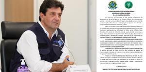 Presidentes dos Conselhos de Medicina de todo País expressam solidariedade ao ministro da Saúde