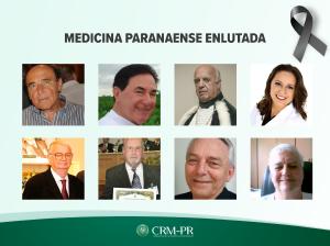 Com mais oito médicos vitimados pela Covid-19 nos últimos dias, total no Paraná chega a 40