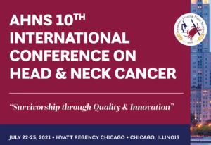 10ª INTERNATIONAL CONFERENCE ON HEAD & NECK CANCER