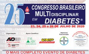 25º Congresso Brasileiro Multidisciplinar em Diabetes