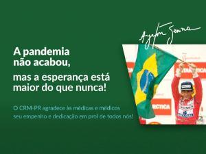 Perseverança, lição em clipe com Ayrton Senna para realçar papel heroico dos profissionais de saúde