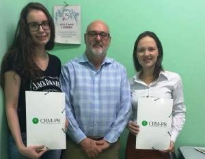 Recepção a duas novas médicas na Regional de Toledo