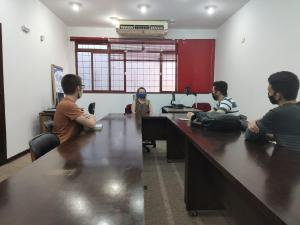 Representação Regional de Maringá recebe representantes de Liga Acadêmica da UEM