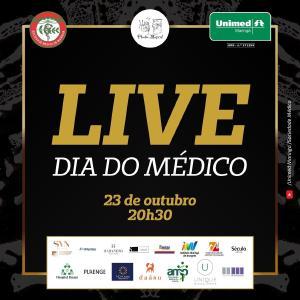 Sociedade Médica e Unimed Maringá promovem live em homenagem ao Dia do Médico